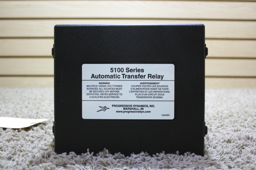 USED PROGRESSIVE DYNAMICS 5100 SERIES AUTOMATIC TRANSFER RELAY FOR SALE RV Components