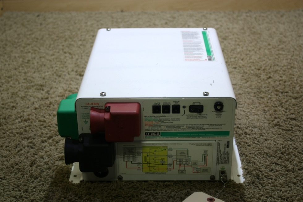 USED RV TRACE ENGINEERING RV2512 INVERTER CHARGER FOR SALE RV Components