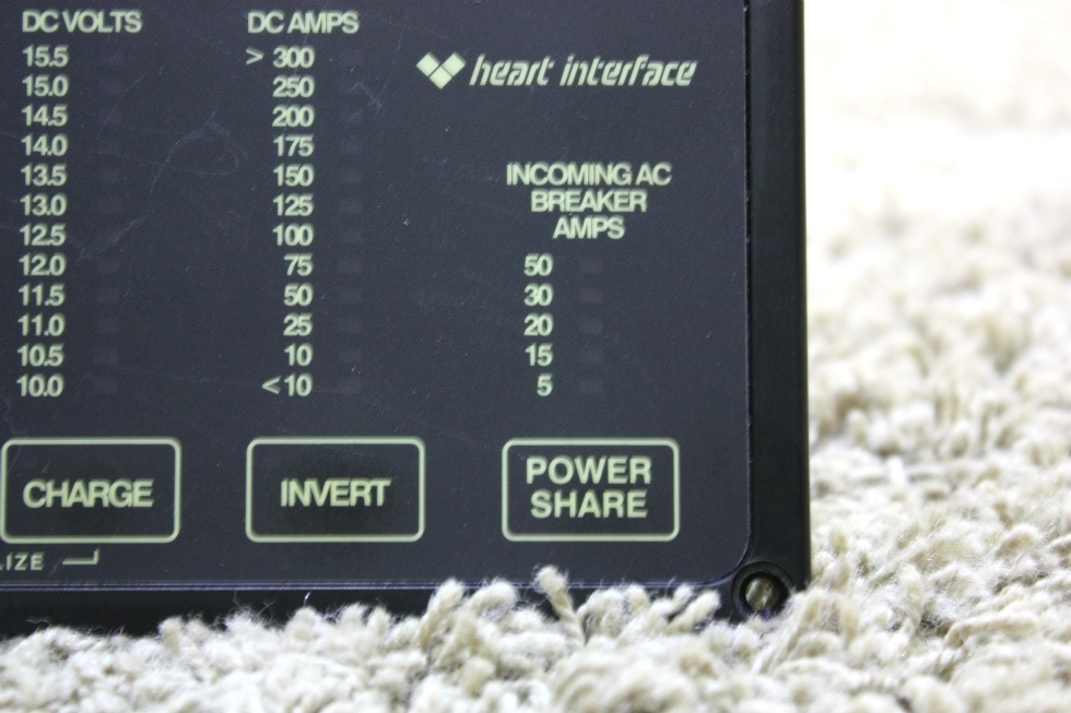 USED RV HEART INTERFACE 84-2056-03 REMOTE FOR SALE RV Components