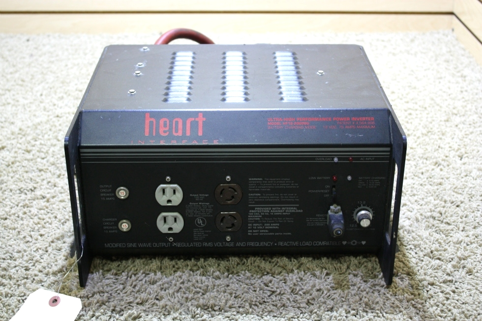 USED RV HEART INTERFACE ULTRA-HIGH PERFORMACE POWER INVERTER HF12-2000SU FOR SALE RV Components