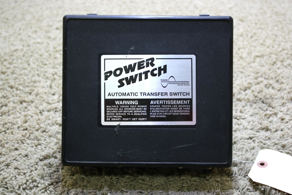 USED POWER SWITCH AUTOMATIC TRANSFER SWITCH TS-30 MOTORHOME PARTS FOR SALE RV Components