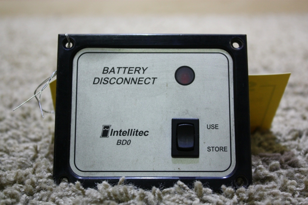 USED INTELLITEC BATTERY DISCONNECT SWITCH BD0 01-00066-004 RV PARTS FOR SALE RV Components