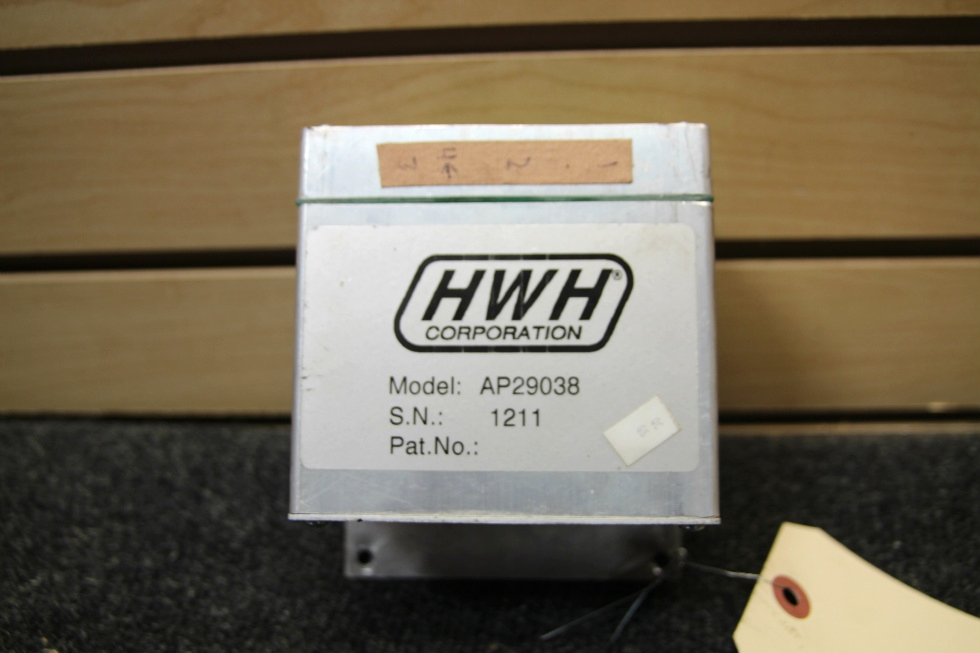 USED HWH CORP. RV/MOTORHOME CONTROL BOX PN: AP29038 SN: 1211 RV Components