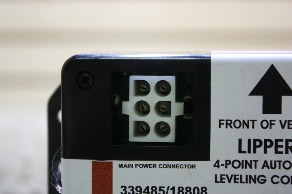 USED RV LIPPERT 4-POINT AUTOMATIC LEVELING CONTROL 339485/18808 FOR SALE RV Components