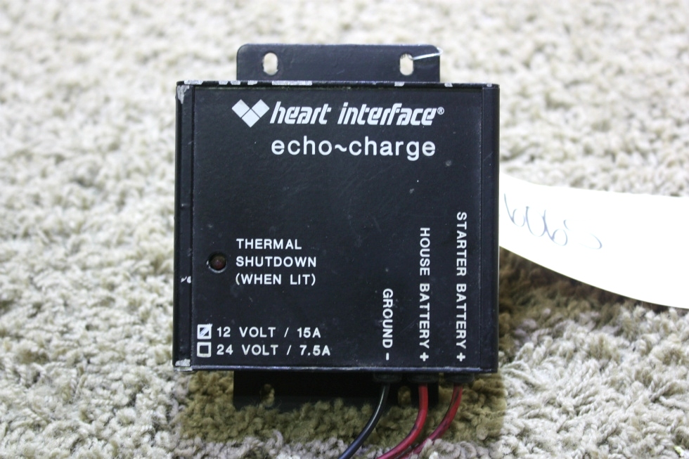 USED RV HEART INTERFACE ECHO-CHARGE FOR SALE RV Components