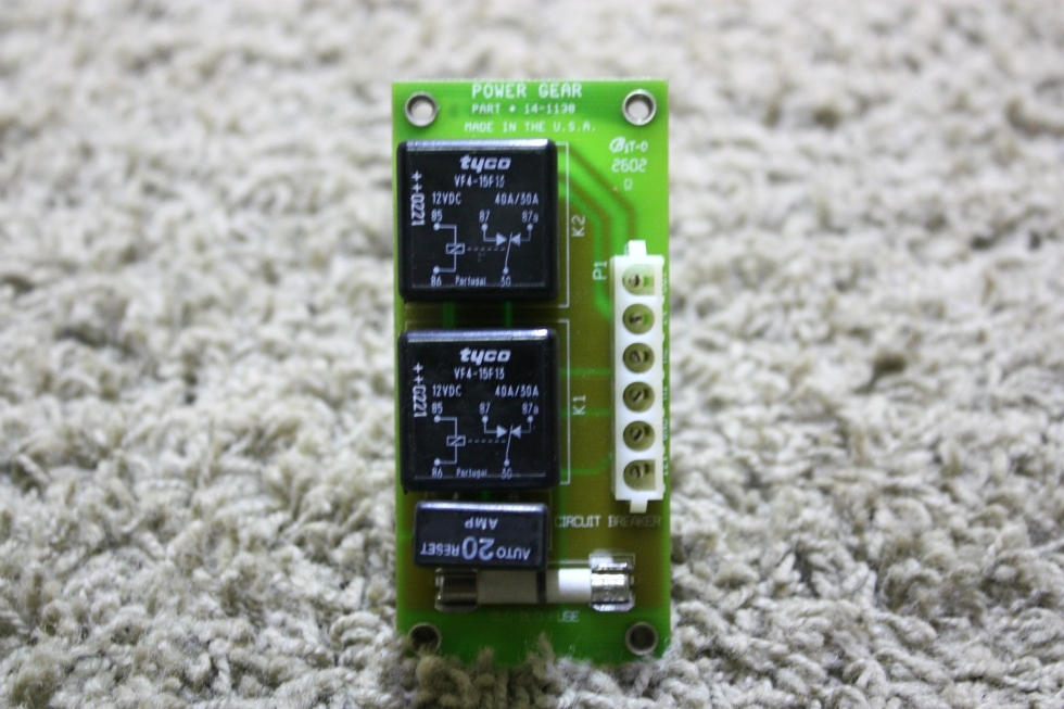 USED RV POWER GEAR 14-1130 SLIDE OUT CONTROL BOARD FOR SALE RV Components