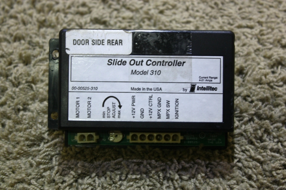 USED RV SLIDE OUT CONTROLLER BY INTELLITEC MODEL 310 FOR SALE RV Components