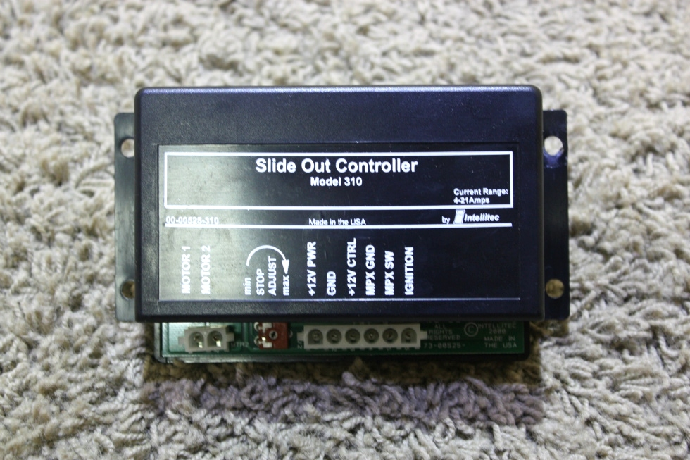 USED SLIDE OUT CONTROLLER MODEL 310 BY INTELLITEC 00-00525-310 MOTORHOME PARTS FOR SALE RV Components