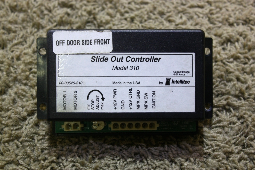 USED 00-00525-310 SLIDE OUT CONTROLLER BY INTELLITEC MODEL 310 RV PARTS FOR SALE RV Components