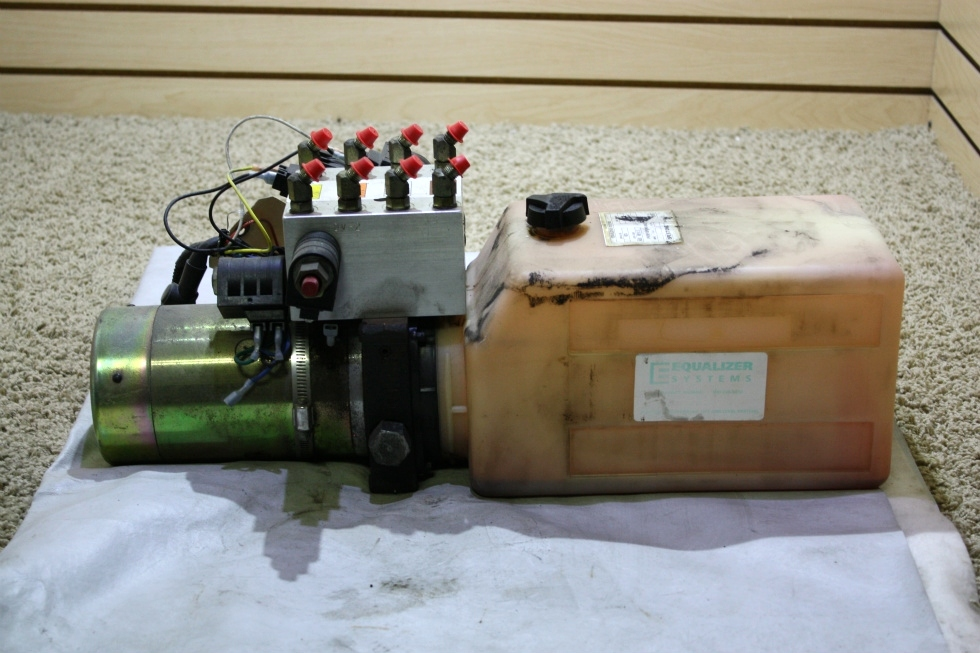 USED EQUALIZER SYSTEMS HYDRAULIC PUMP DC-1067 RV PARTS FOR SALE RV Components