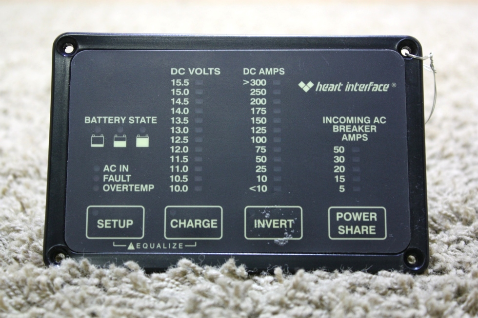 USED RV HEART INTERFACE HEART REMOTE 84-2056-03 FOR SALE RV Components