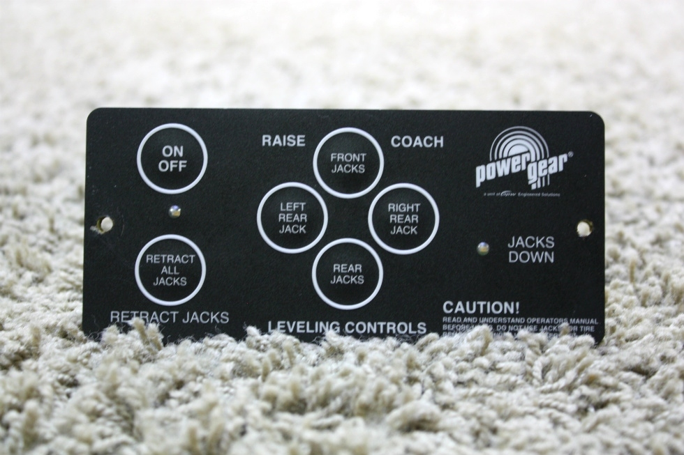 USED RV POWER GEAR LEVELING CONTROL TOUCH PAD 500456 FOR SALE RV Components