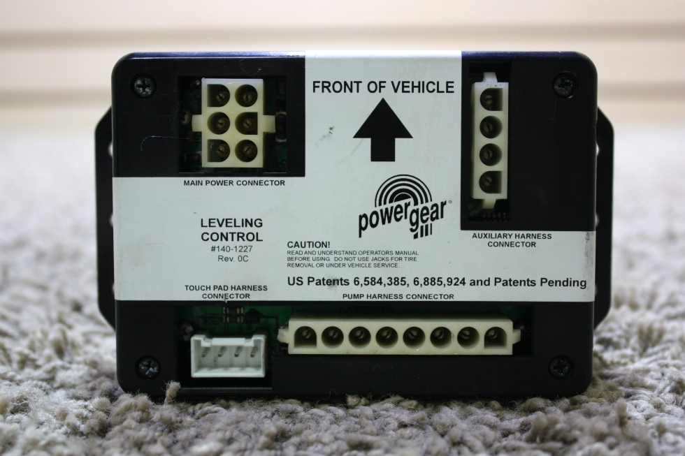 USED RV POWER GEAR LEVELING CONTROL BOARD 140-1227 FOR SALE RV Components