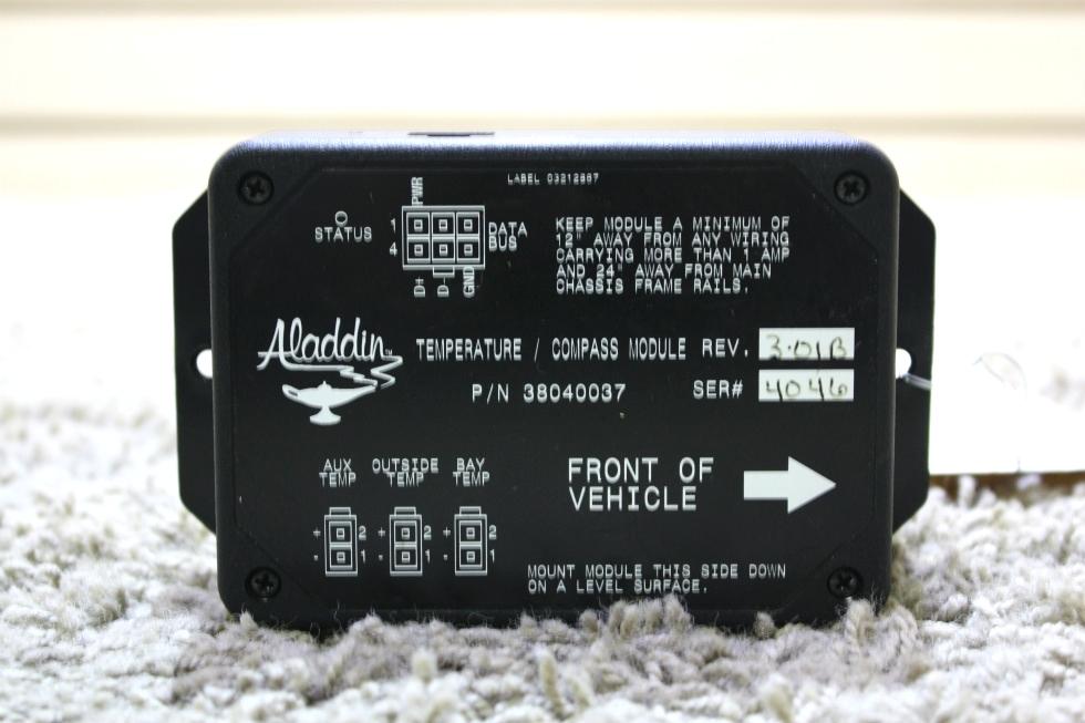 USED RV ALADDIN TEMPERATURE / COMPASS MODULE 38040037 FOR SALE RV Components