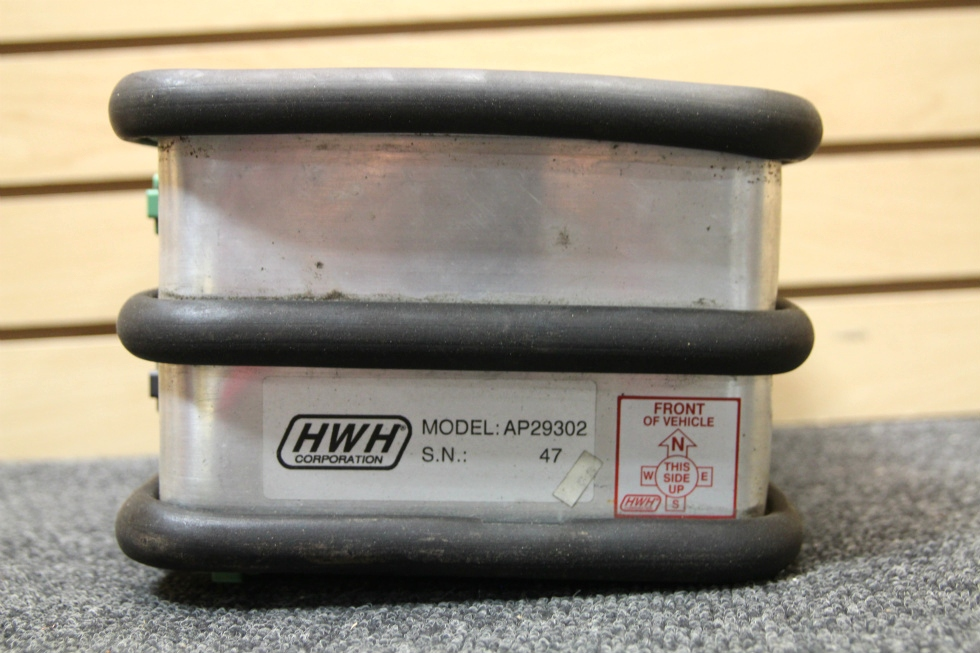 USED RV/MOTORHOME HWH LEVELING CONTROL BOX PN: AP29302 SN: 47 RV Components
