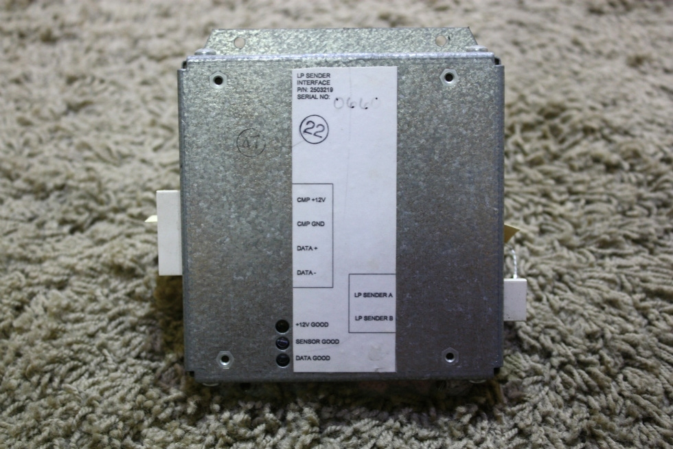 USED RV 2503219 LP SENDER INTERFACE MODULE FOR SALE RV Components
