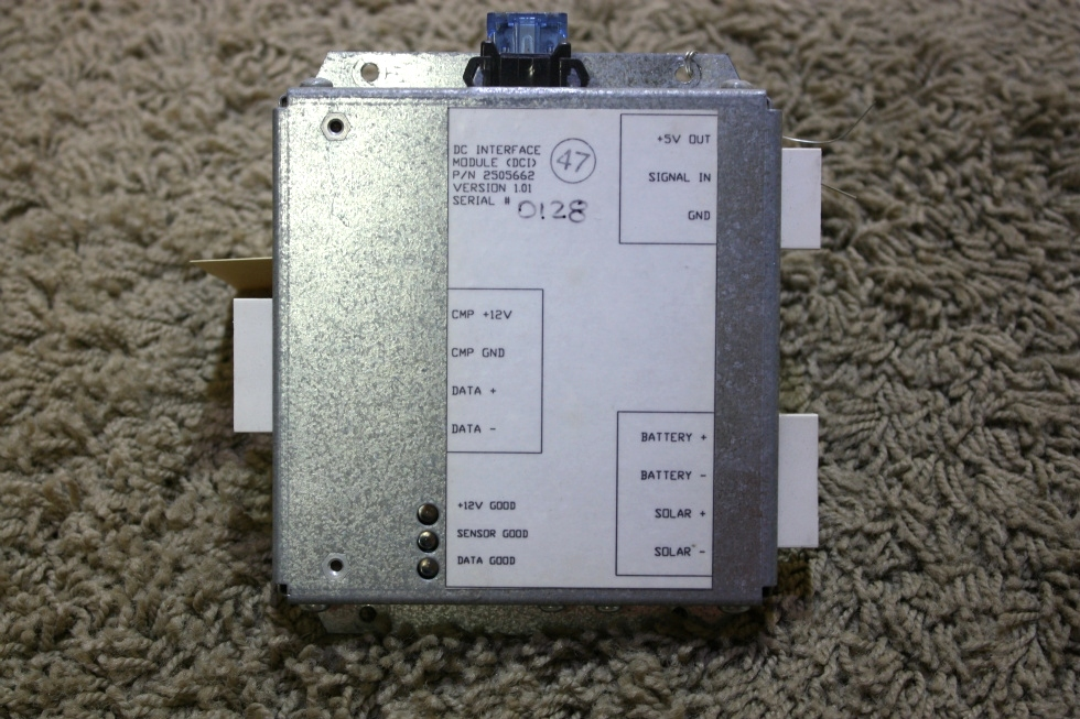 USED DC INTERFACE MODULE (DCI) PN: 2505662 RV PARTS FOR SALE RV Components