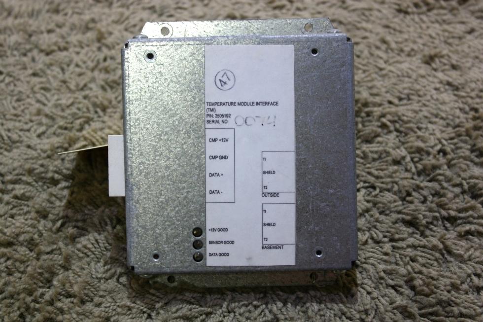 USED RV TEMPERATURE MODULE INTERFACE (TMI) PN: 2505192 FOR SALE RV Components
