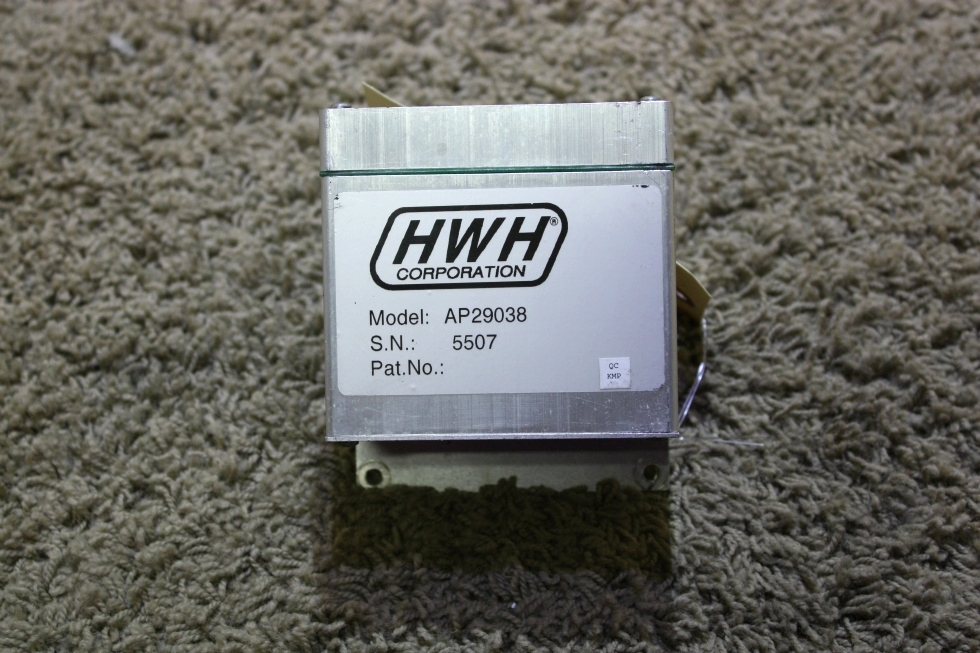 USED RV HWH AP29038 LEVELING CONTROLBOX FOR SALE RV Components