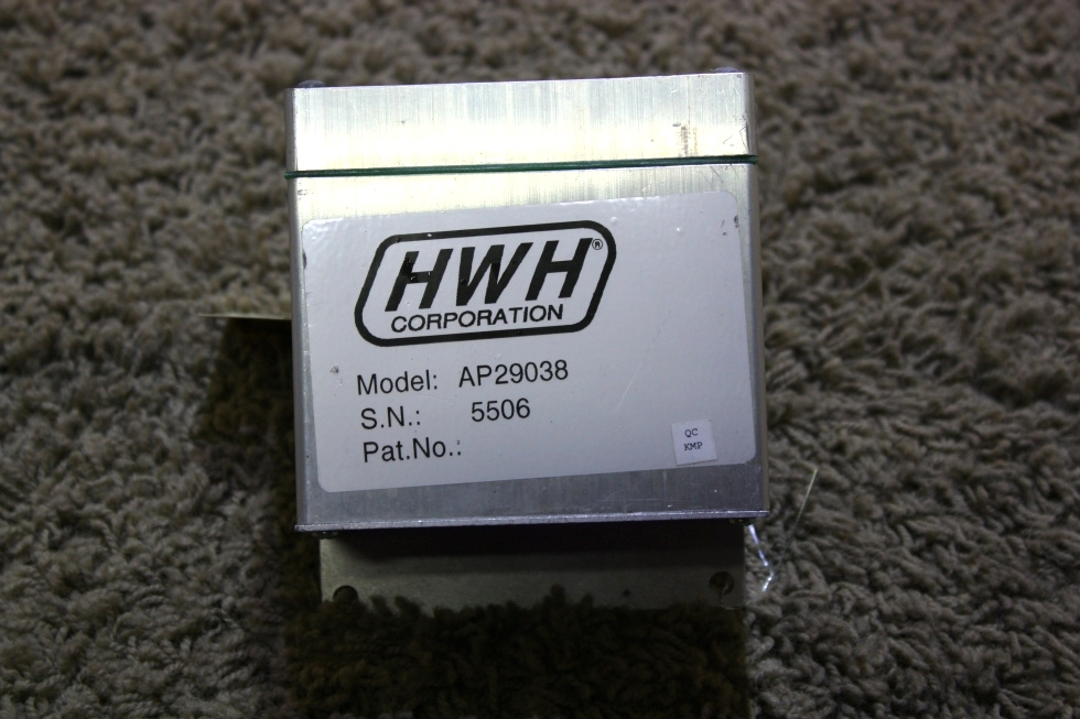 USED MOTORHOME AP29038 HWH LEVELING CONTROLBOX FOR SALE RV Components