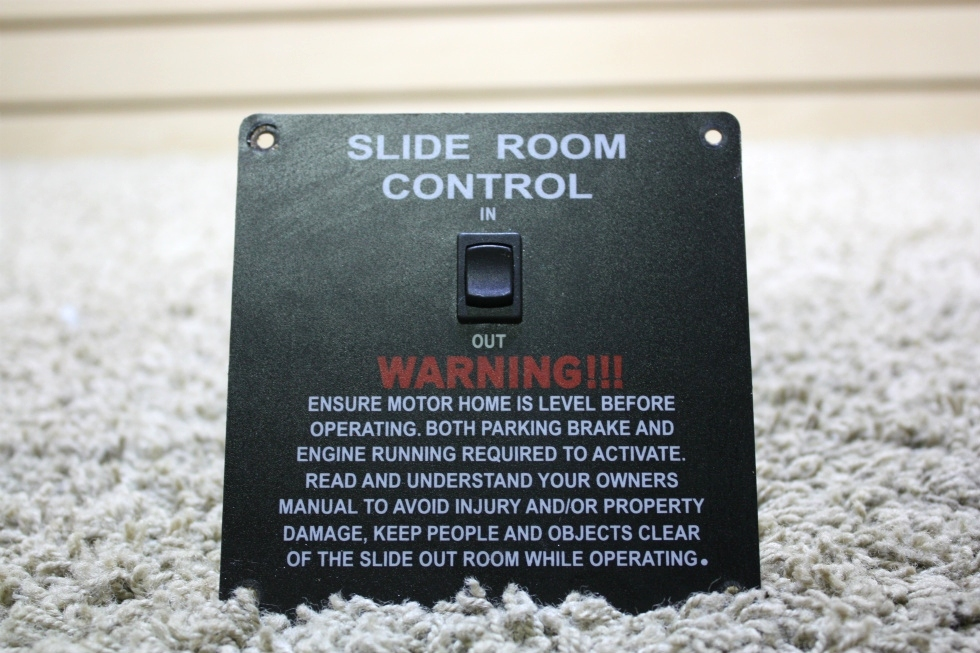 USED SLIDE ROOM CONTROL PANEL MOTORHOME PARTS FOR SALE RV Components