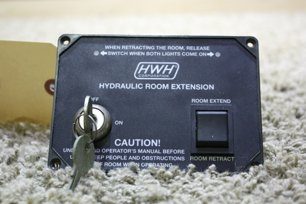 USED MOTORHOME HWH HYDRAULIC ROOM EXTENSION AP28642 FOR SALE RV Components