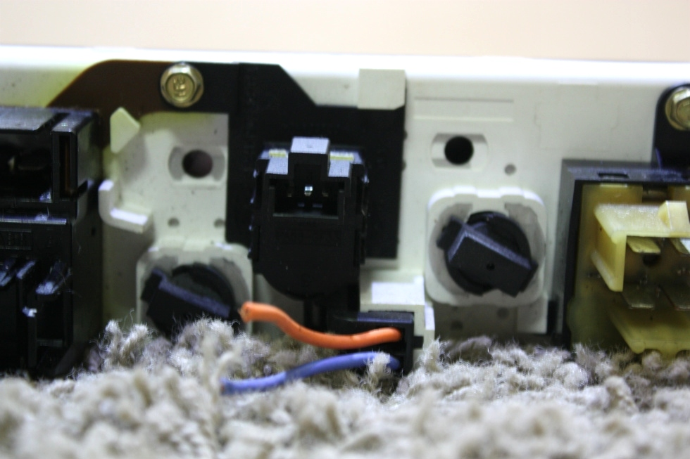 USED MOTORHOME DASH A/C CONTROLS FOR SALE RV Components
