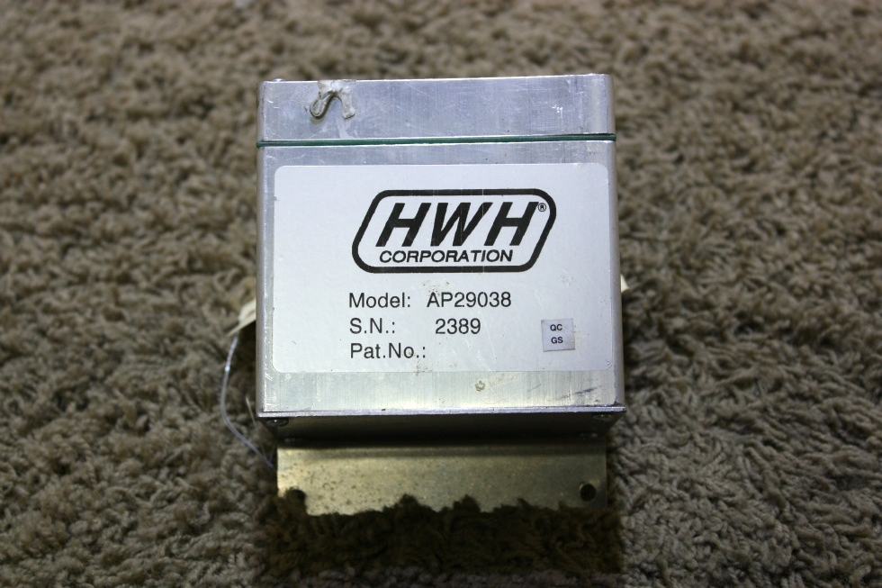 USED MOTORHOME AP29038 HWH LEVELING CONTROL BOX FOR SALE RV Components