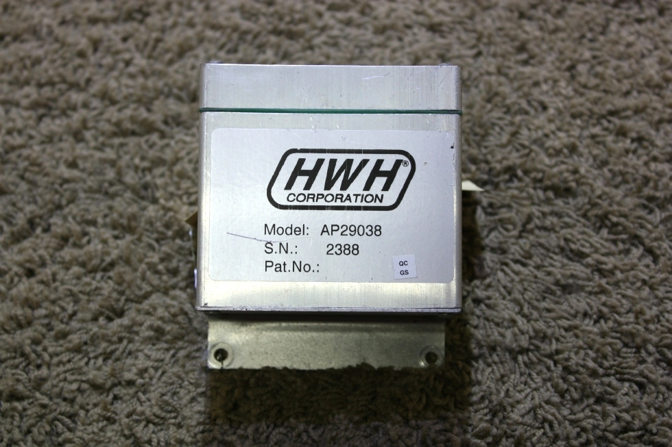 USED HWH LEVELING CONTROL BOX AP29038 RV PARTS FOR SALE RV Components