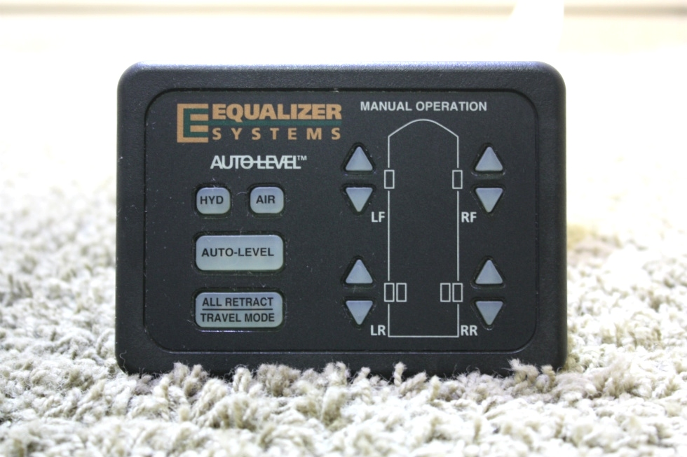 USED MOTORHOME EQUALIZER SYSTEMS AUTO LEVEL TOUCH PAD PN: 1978 FOR SALE RV Components