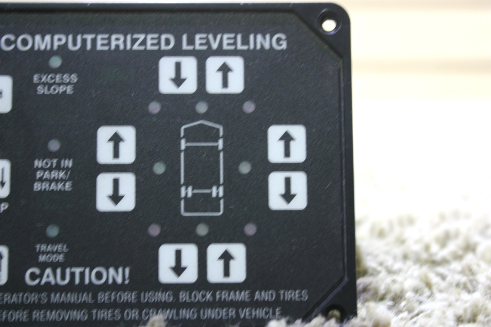 RV Components USED AP22703 HWH COMPUTERIZED LEVELING TOUCH