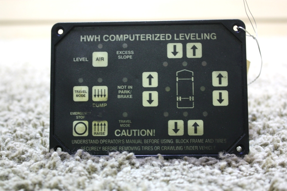 USED MOTORHOME HWH COMPUTERIZED LEVELING TOUCH PAD AP22703 FOR SALE RV Components