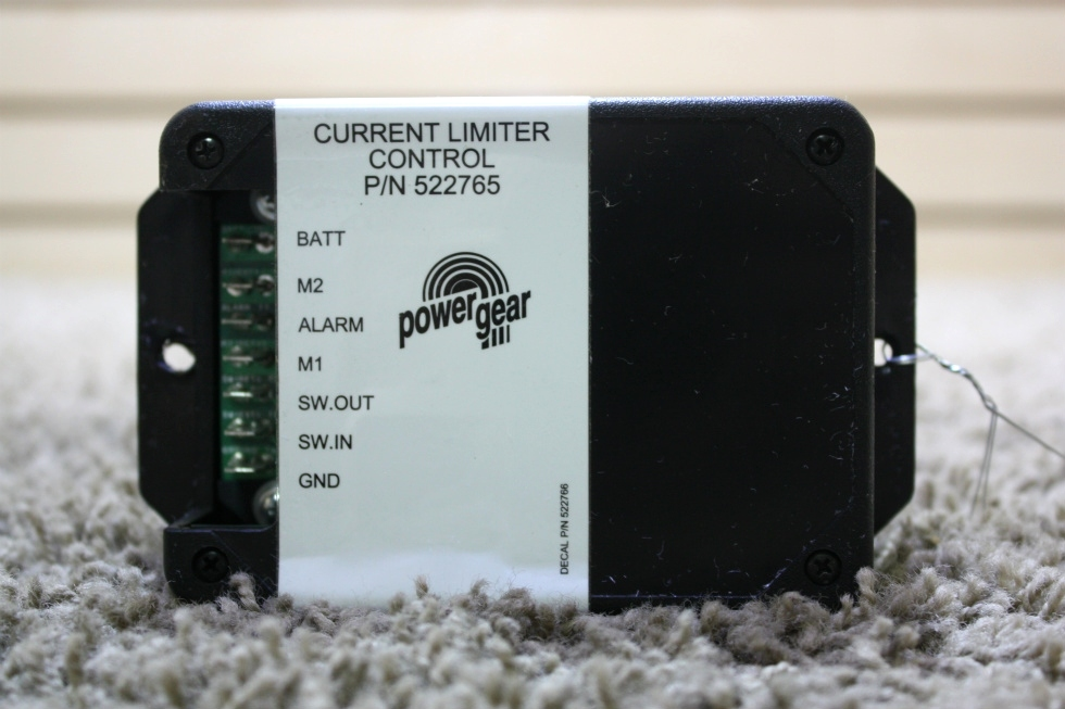 USED POWER GEAR CURRENT LIMITER CONTROL 522765 RV PARTS FOR SALE RV Components