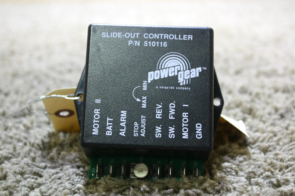 USED MOTORHOME POWER GEAR SLIDE OUT CONTROLLER 510116 RV PARTS FOR SALE RV Components