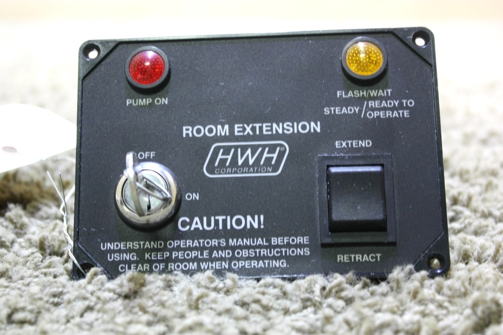 USED HWH ROOM EXTENSION CONTROL PANEL MOTORHOME PARTS FOR SALE RV Components