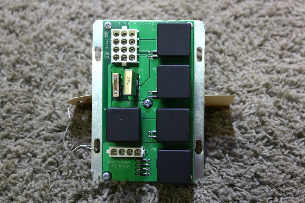 USED RV 16615988 KIB TRIPLE SLIDE OUT CONTROL BOARD MOTORHOME PARTS FOR SALE RV Components