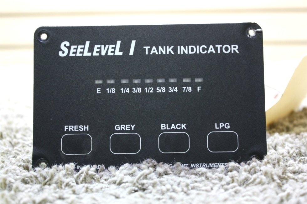 USED RV SEELEVEL I 707-02671 TANK MONITOR PANEL FOR SALE RV Components