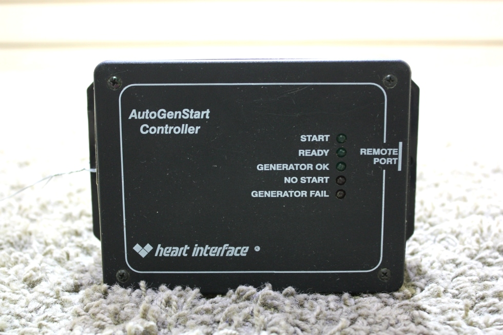 USED MOTORHOME HEART INTERFACE AUTOGENSTART CONTROLLER 84-7002-01 RV PARTS FOR SALE RV Components