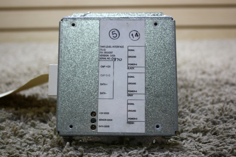 USED MOTORHOME TANK LEVEL INTERFACE (TLI-2) PN: 38030267 FOR SALE RV Components