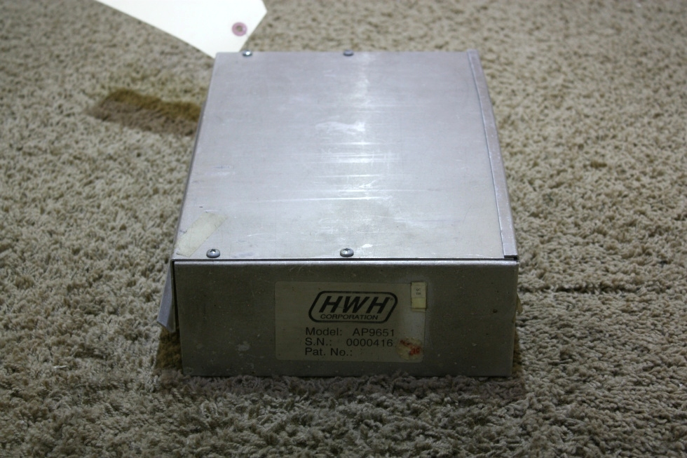 USED RV LEVELING CONTROL BOX AP9651 MOTORHOME PARTS FOR SALE RV Components