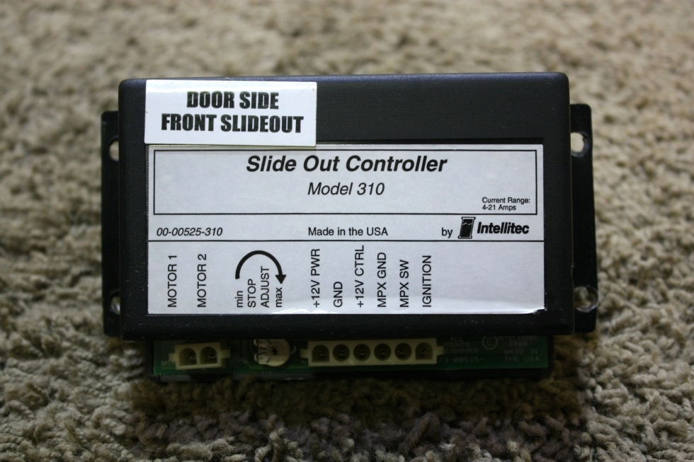 USED RV SLIDE OUT CONTROLLER MODEL 310 BY INTELLITEC 00-00525-310 FOR SALE RV Components