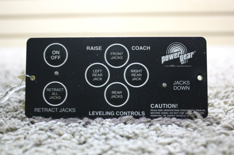 USED MOTORHOME POWER GEAR 500456 LEVELING TOUCH PAD FOR SALE RV Components