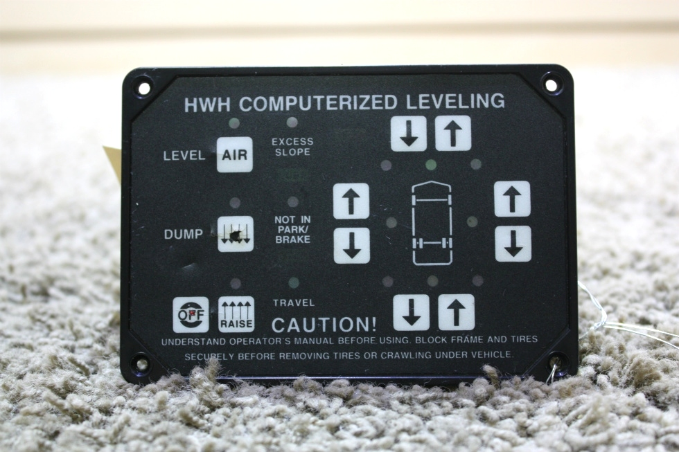 USED HWH COMPUTERIZED LEVELING CONTROL AP8444 RV PARTS FOR SALE RV Components