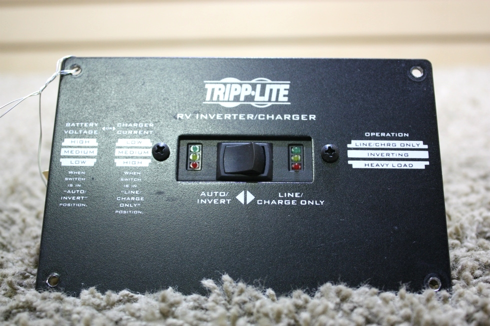 USED TRIPP-LITE RV INVERTER CHARGER REMOTE MOTORHOME PARTS FOR SALE RV Components