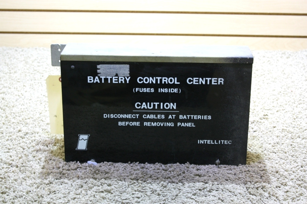 USED RV INTELLITEC 73-00500 BATTERY CONTROL CENTER FOR SALE RV Components