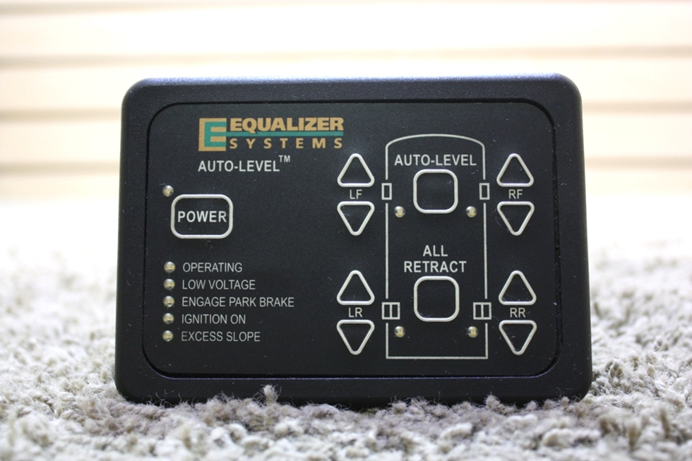 USED RV EQUALIZER SYSTEM AUTO-LEVEL KEYPAD MODEL: 2318 FOR SALE RV Components