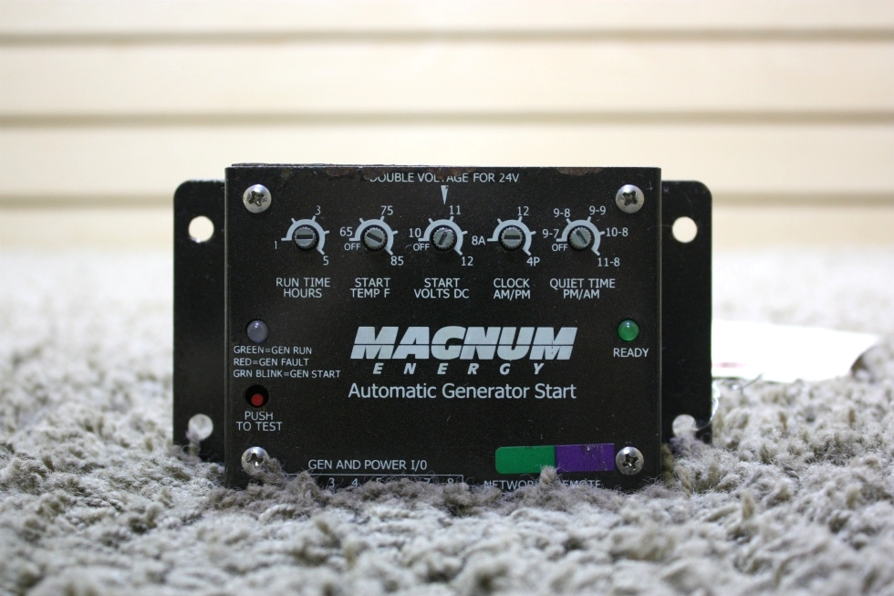 USED RV MAGNUM ENERGY AUTOMATIC GENERATOR START FOR SALE RV Components