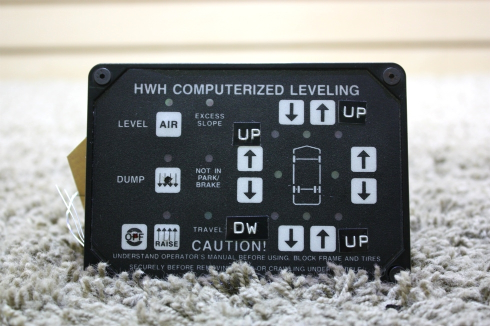 USED HWH COMPUTERIZED LEVELING TOUCH PAD RV PARTS FOR SALE RV Components