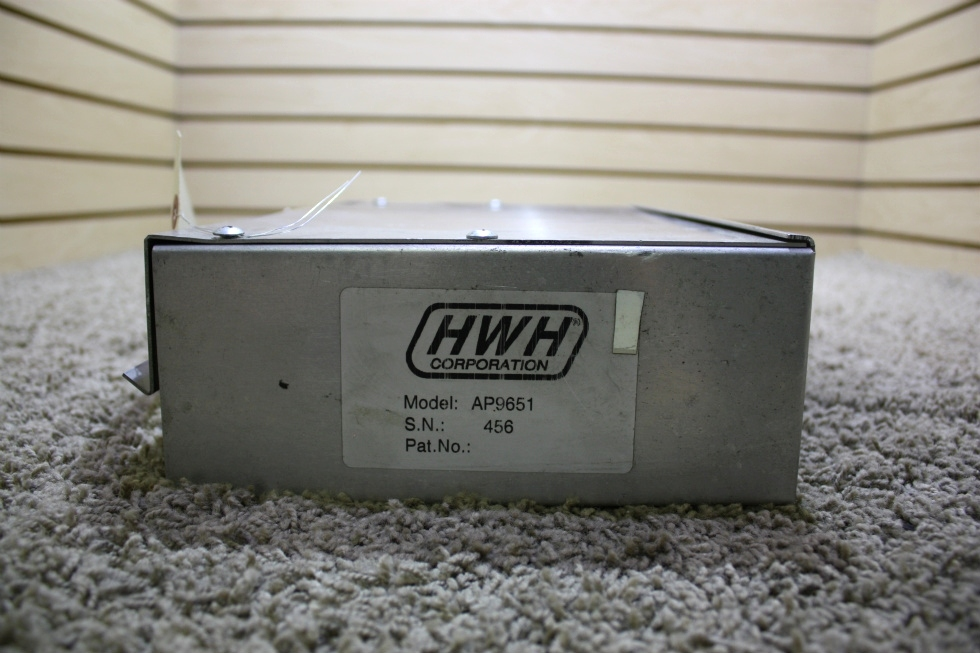 USED MOTORHOME HWH LEVELING CONTROL BOX AP9651 FOR SALE RV Components