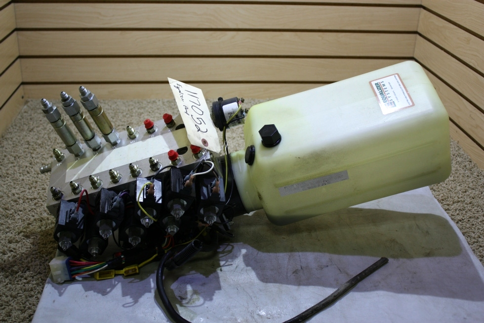 USED RV EQUALIZER SYSTEMS S103T*5076 HYDRAULIC PUMP FOR SALE RV Components